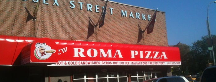 New Roma Pizza is one of NYC Food.