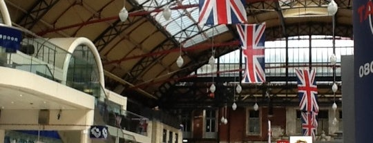 London Victoria Railway Station (VIC) is one of You calling me a train spotter?.
