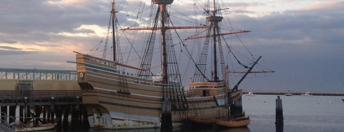 Plymouth Historic Waterfront is one of Ships (historical, sailing, original or replica).