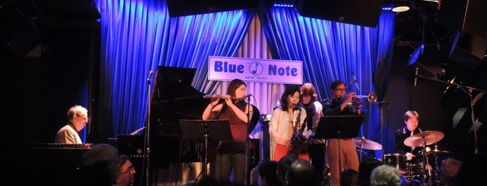 Blue Note is one of 101 places to see in Manhattan before you die.