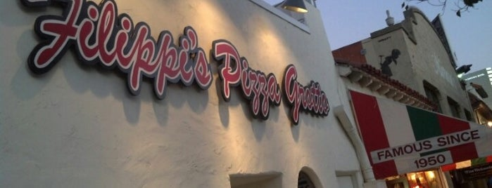 Filippi's Pizza Grotto is one of San Diego Must Eats.