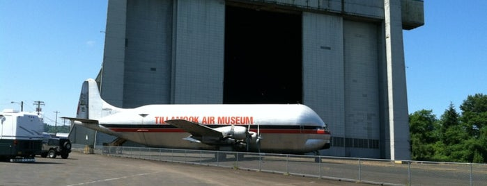 Tillamook Air Museum is one of 2014 Oregon Trip.