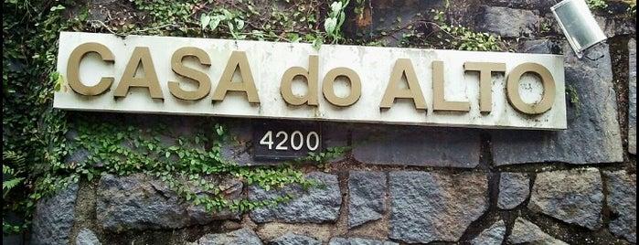 Casa do Alto is one of no Rio.