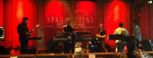 Spaghettini Fine Dining & Entertainment is one of Orte, die Dan gefallen.