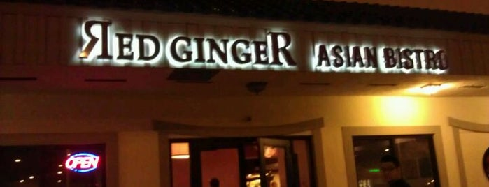 Red Ginger Asian Bistro is one of Coral Springs.