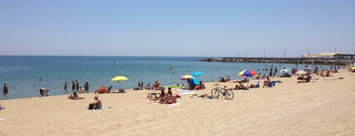 Platja de la Nova Mar Bella is one of Barcelona Touristic places Done.