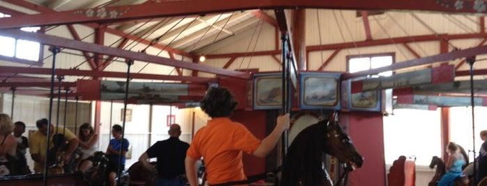 Flying Horses Carousel is one of MV.