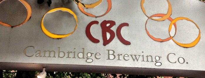 Cambridge Brewing Company is one of Top Craft Beer Bars: Boston Edition.