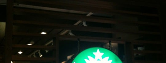 Starbucks is one of Cafés.