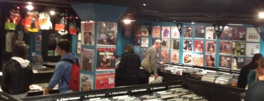 Sister Ray Records is one of London Not-Food Places.