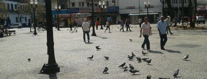 Praça Visconde de Indaiatuba (Largo do Rosário) is one of Turismo em Campinas.