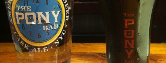 The Pony Bar is one of NYC_Foodie-Restos-Wine-Beer.
