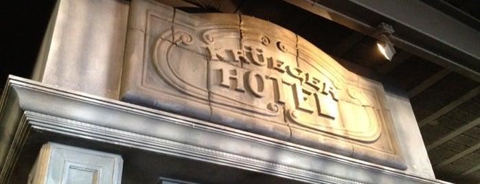 Krüeger Hotel is one of Испания.