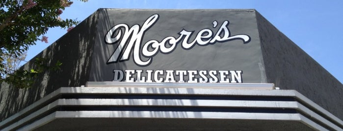 Moore's Delicatessen is one of LA breakfast.