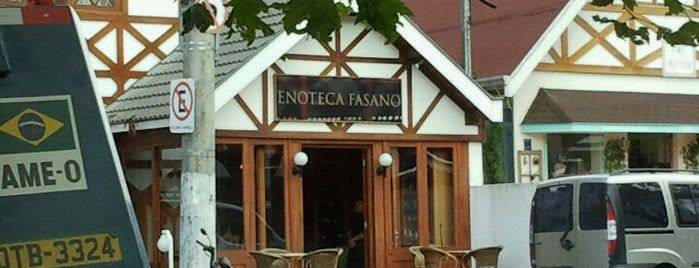 Enoteca Fasano is one of Fabio 님이 저장한 장소.