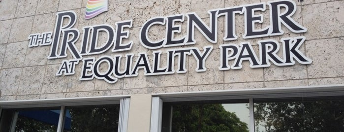 Pride Center at Equality Park is one of Wilton Manors Favorites.