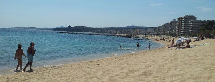 Platja Es Monestri is one of Playas de España: Cataluña.