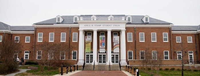 Adele H Stamp Student Union is one of DC Bucket List 2.