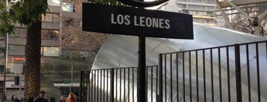 Metro Los Leones is one of Lugares....