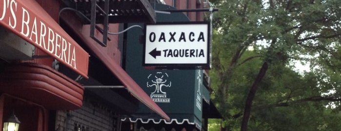 Oaxaca Taqueria is one of Nolfo NYC Foodie Spots.