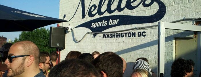 Nellie's Sports Bar is one of DC gay bars.