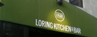 Loring Kitchen and Bar is one of Lugares favoritos de Lovely.