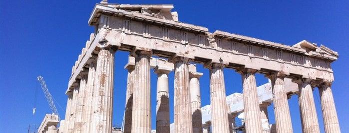 Acrópolis de Atenas is one of Sitios Internacionales.