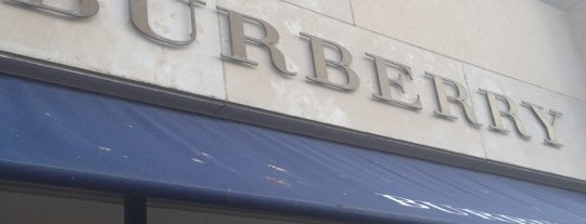 Burberry is one of Locais salvos de kazahel.