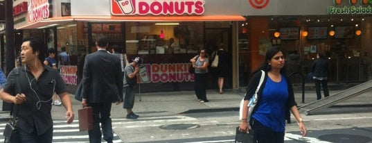Dunkin' is one of NYC Spots.