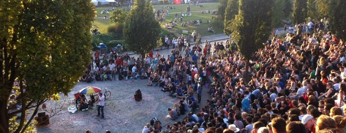 Mauerpark is one of Berlin!.