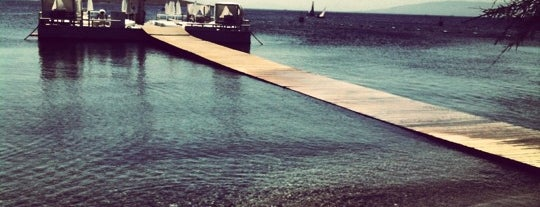 Fink Beach is one of Bodrum !!.
