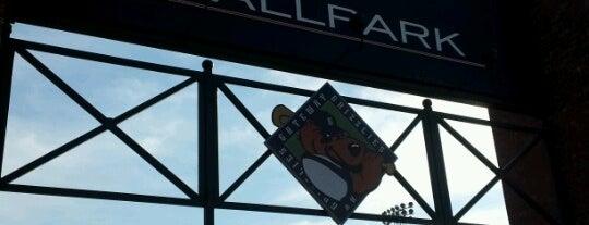 GCS Ballpark is one of Man v Food Nation.