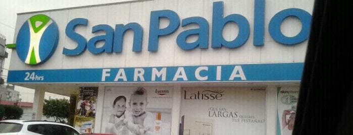 Farmacia San Pablo is one of Locais curtidos por Sergio.