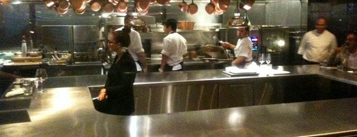 Chef's Table At Brooklyn Fare is one of Michelins.