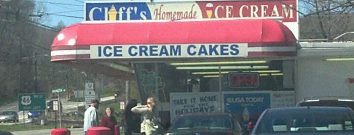 Cliff's Homemade Ice Cream is one of NJ Must Visit.