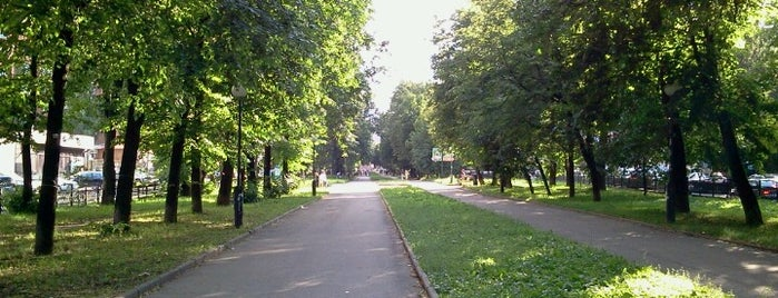 Звездинский сквер is one of Flore 님이 좋아한 장소.