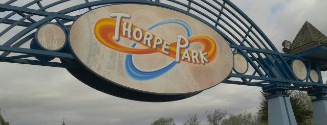 Thorpe Park is one of London 🇬🇧.