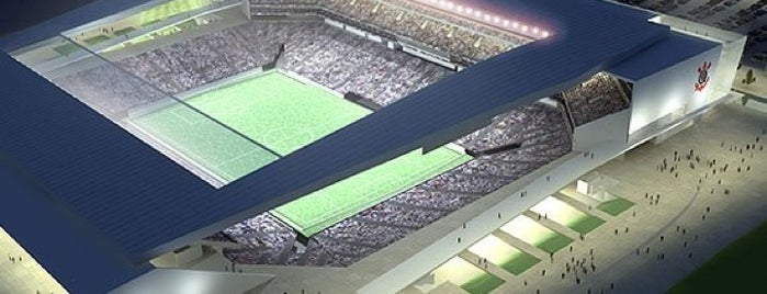 Arena Corinthians is one of Locais curtidos por Rodrigo.