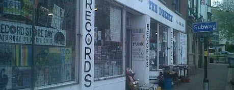 The Diskery is one of worldwide record stores..