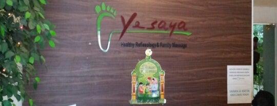 YESAYA Health Reflexology & Family Massage is one of Tempat yang Disukai Hana.