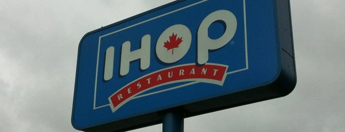 IHOP is one of Lugares favoritos de Moe.