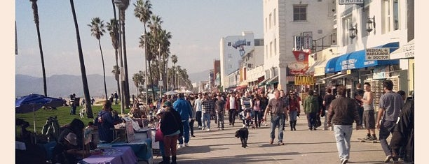 Venice Beach Boardwalk is one of US Landmarks.