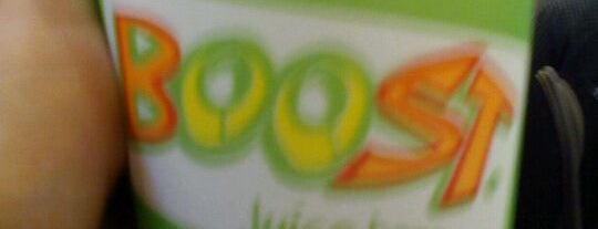 Boost Juice Bars is one of Yummies.
