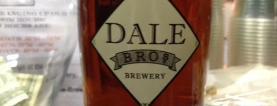 Dale Bros. Brewery is one of Top 10 Local Breweries.