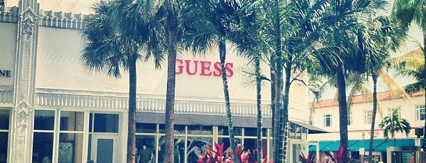 GUESS is one of Lincoln Road Mall Must List.