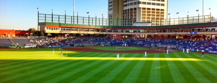 Greater Nevada Field is one of Roadtrip August 2014.