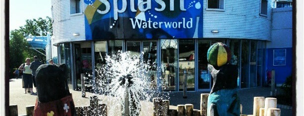 Splash Waterworld is one of Butlin's Minehead.