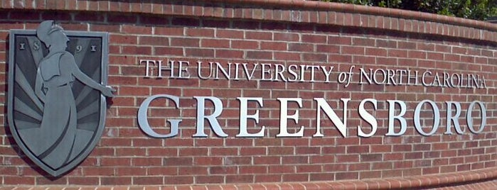 University of North Carolina at Greensboro is one of Greensboro.