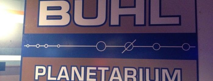 Buhl Digital Planetarium is one of Wayne'nin Kaydettiği Mekanlar.