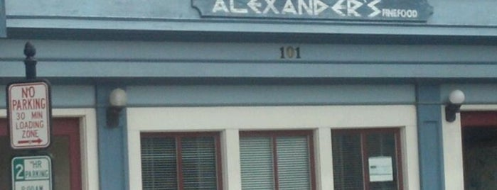 Alexander's is one of Want To Go.